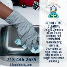 No matter the place we provide an efficient cleaning service according to your needs Deep Cleaning Services, Residential Cleaning, Texas Homes, Clean House, Housekeeping, How To Find Out