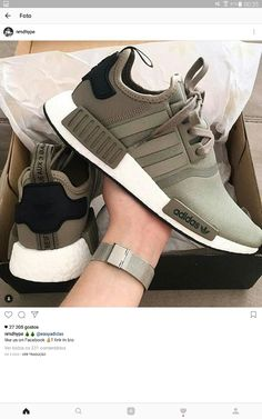 adidas Men's Originals NMD Runner – Trace Cargo - shoes sport women Shoe Boots, Shoes Sandals, Shoes Sneakers, Crazy Shoes, Me Too Shoes, Sneakers Fashion, Fashion Shoes, Fashion Outfits, Adidas Shoes Women