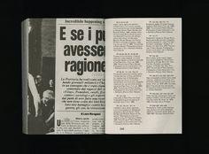 La Fine del Mondo Marco Fusinato, Felicity D. Graphic Design Studios, Editorial Design, Fed Up, Editorial Layout