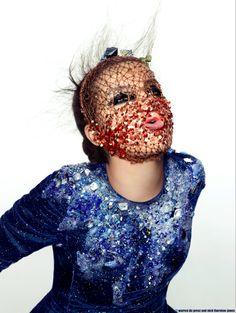 Bjork Glitter Mask