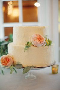 cabbage rose and buttercream