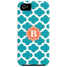 Monogram iPhone Case.