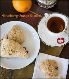 How to Make Cranberry Orange Scones