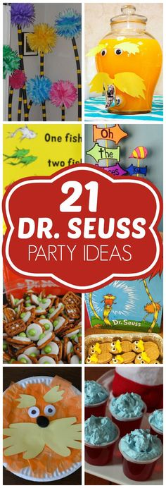 21 DIY Dr. Seuss Party Ideas | Pretty My Party