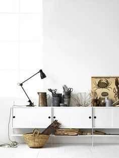 Scandinavian design furniture - Buy online from Finnish Design Shop. Wide selection of classic and modern design! Design Shop, Deco Design, System Furniture, Design Furniture, Living Tv, Home And Living, Living Room, Room Inspiration, Interior Inspiration