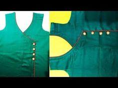 Latest Collar Neck Design | Neck Design Cutting and Stitching for Punjabi suit/kurti - YouTube