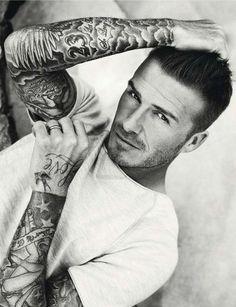 Simon Robins styles David Beckham for Elle UK, July 2012