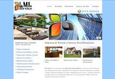Realizzazione Sito Web Dinamico Impresa di Pulizie e Servizi Disinfestazione.  www.ml-service.it  RICHIEDI INFORMAZIONI info@tredweb.com