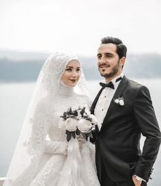 Hijab Wedding: Likes, 9 Comments – Celal Canik ( … – Best Of Likes Share Muslim Wedding Gown, Hijabi Wedding, Kebaya Wedding, Muslimah Wedding Dress, Muslim Wedding Dresses, Muslim Brides, Wedding Poses, Wedding Hijab Styles, Wedding Ideas