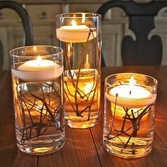 Hey Precious   we can spray the branches to your desired color and different have different colored candles if you want.