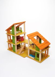 Chalet Dollhouse Set by Plan Toys
