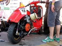 vespa custom racing - Cerca amb Google