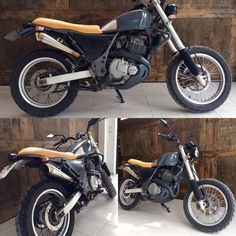 First caferacercult.gr #project Suzuki XF 650 for our partner @PressDot, in colaboretion with Adrenaline junkies workshop  #caferacercult #project #suzuki #xf650 #freewind #pressdot #adrenalinejunkiesworkshop #streettracker #scrambler #custom