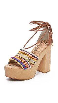 e75398a75 Sam Edelman Mel Platform Sandals Designer Sandals