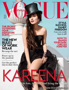 Vogue India Febrero 2013: Kareena Kapoor