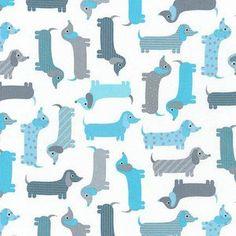 Ann Kelle - Urban Zoologie Part 6 - Dachshunds in Aqua