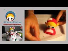 ilMondodiDorina - Cake Design - Tutorial Torta e Personaggio 3D Decorata e Zuccherosa