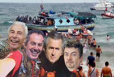 Flyktningestrømmen som skal bryte ned Europa