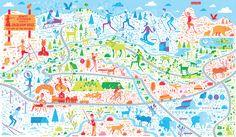 Illustrated map by Nate Padavick