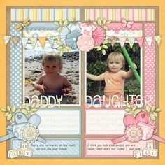 Layout using {Sweet Baby Boy} by Just So Scrappy http://store.gingerscraps.net/Sweet-Baby-Boy-Digital-Scrapbooking-Collection.html  http://www.gottapixel.net/store/product.php?productid=10019584&cat=&page=1 and {Sweet Baby Girl} http://store.gingerscraps.net/Sweet-Baby-Girl-Digital-Scrapbooking-Collection.html  http://www.gottapixel.net/store/product.php?productid=10019574&cat=&page=1 #digiscrap #digitalscrapbooking #justsoscrappy #sweetbabyboy