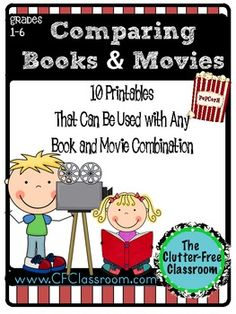 Comparing Books and Movies Freebie
