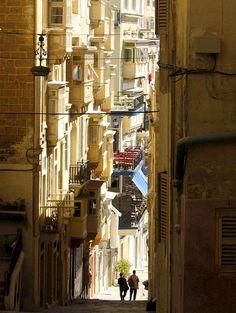   ♕   Mediterranean lights - Valletta, Malta   by © Samoano