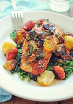 Pan Seared Salmon For One
