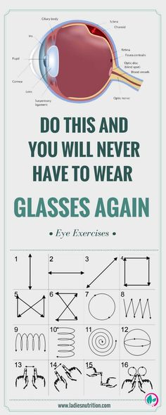 Eye exercises will enhance the quality of your vision, and will help you in overcoming impending problems you may have and maintain your present quality of sight. - EXERCISE AND HEALTH Health And Beauty, Health And Wellness, Health Tips, Health Fitness, Fitness Hacks, Fitness Women, Beauty Skin, Health Care, Natural Cures