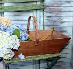 Trug is a word, Kathy (while playing Scrabble and I won, and won't let you forget it!) It's also a glorious object to carry produce or flowers from one's garden.
