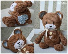 Mesmerizing Crochet an Amigurumi Rabbit Ideas. Lovely Crochet an Amigurumi Rabbit Ideas. Crochet Teddy, Love Crochet, Knit Or Crochet, Crochet Crafts, Crochet Dolls, Crochet Projects, Amigurumi Patterns, Crochet Patterns, Knitted Animals