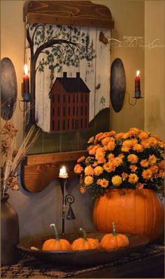 Cozy Prim Decorations for Fall