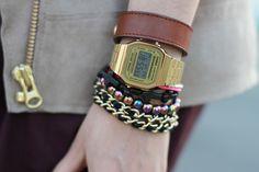 love digi watch with prismatic bracelet