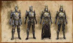 Concept Art - The Elder Scrolls Online The Elder Scrolls, Elder Scrolls Games, Elder Scrolls Online, Fantasy Armor, Medieval Fantasy, Fantasy Weapons, Character Inspiration, Character Art, Character Design
