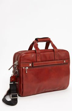 4000df28269f Bosca Double Compartment Leather Briefcase available at  Nordstrom Small Leather  Bag