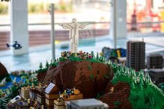 The Danish government gifted the city of Rio de Janeiro with a 947,000 piece Lego replica of the marvelous city. The exhibition is on display at Porto Maravilha on the Olympic Boulevard from August 5 to August 21. Rio 2016, Olympics, August 2016