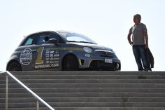 Photos of the Official Gumball 3000 car of 2014 - the Abarth 695 biposto... Yum.