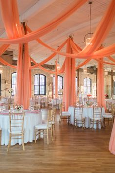 Eliminate your summer wedding with coral wedding decorations. Coral wedding color combinations will make the atmosphere looks lively and warm. Coral Wedding Receptions, Coral Wedding Decorations, Coral Wedding Themes, Orange Wedding Colors, Sweet 16 Decorations, Wedding Ideas, Wedding Coral, Wedding Mandap, Stage Decorations