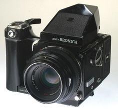 Zenza Bronica ETR Medium Format Camera w/75mm f2.8 Lens (Bronica medium format camera)  http://www.ebay.com/itm/like/141227879868?lpid=82  Also:  https://www.google.com/#q=Bronica+medium+format+camera&tbm=shop&spd=0