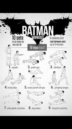 Batman workout!