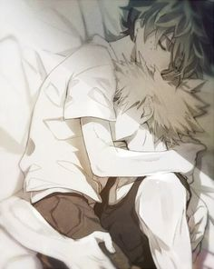 I will not let you go~ <3 KatsuDeku <3 OMFG SO CUTE