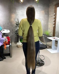 Long Hair Cuts, Long Hair Styles, Rapunzel Hair, Super Long Hair, Beautiful Long Hair, Dream Hair, Ponytail, Hair Beauty, Jumpers