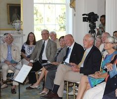 Sponsors and Benefactors at Music at Millford (September 2014).