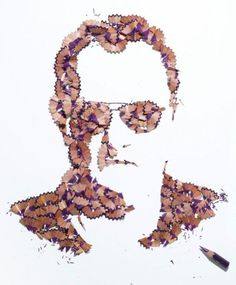 Just Beautiful Portraits of Pencil Shavings…..
