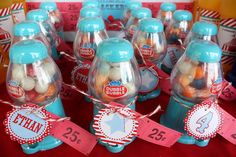 Carnival Party- Carnival Prizes: Gumball Dispensers