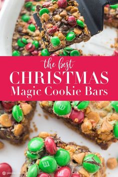 A must make this holiday season is this Christmas Magic Cookie Bars recipe! Easy… A must make this holiday season is this Christmas Magic Cookie Bars recipe! Easy, delicious, and magical to make! Kids will have a blast with these bars Crinkle Cookies, Christmas Snacks, Christmas Cooking, Christmas Goodies, Christmas Deserts Easy, Christmas Holiday, Christmas Ideas, Christmas Brownies, Christmas Crafts