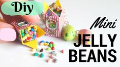 Hello there! Today, let me show you how to make, miniature bertie bott's boxes…