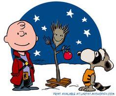 A Charlie Brown Groot