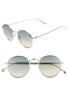 bb70b5084d01 Free shipping and returns on Tom Ford Ryan 52mm Round Sunglasses at  Nordstrom.com.