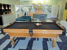 Pool Table In Clubhouse Of Village Green Of Ann Arbor. Resort Class  Amenities. Lifestyle