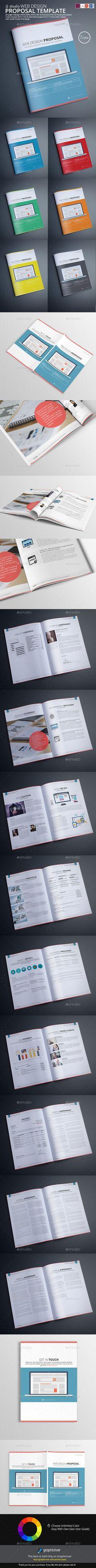 Web Design Proposal Template #design Download: http://graphicriver.net/item/web-design-proposal-template/12532855?ref=ksioks